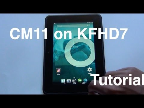 How to put android 4.4.2 on kindle fire hd 7 inch