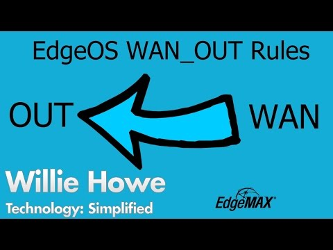 EdgeOS Outbound Firewall Rules