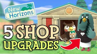 Animal Crossing New Horizons: 5 SHOP UPGRADES We Could See In Future Updates (SPECULATION)