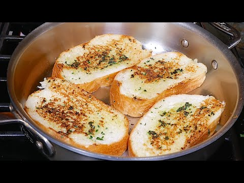 Garlic Bread without Oven Recipe