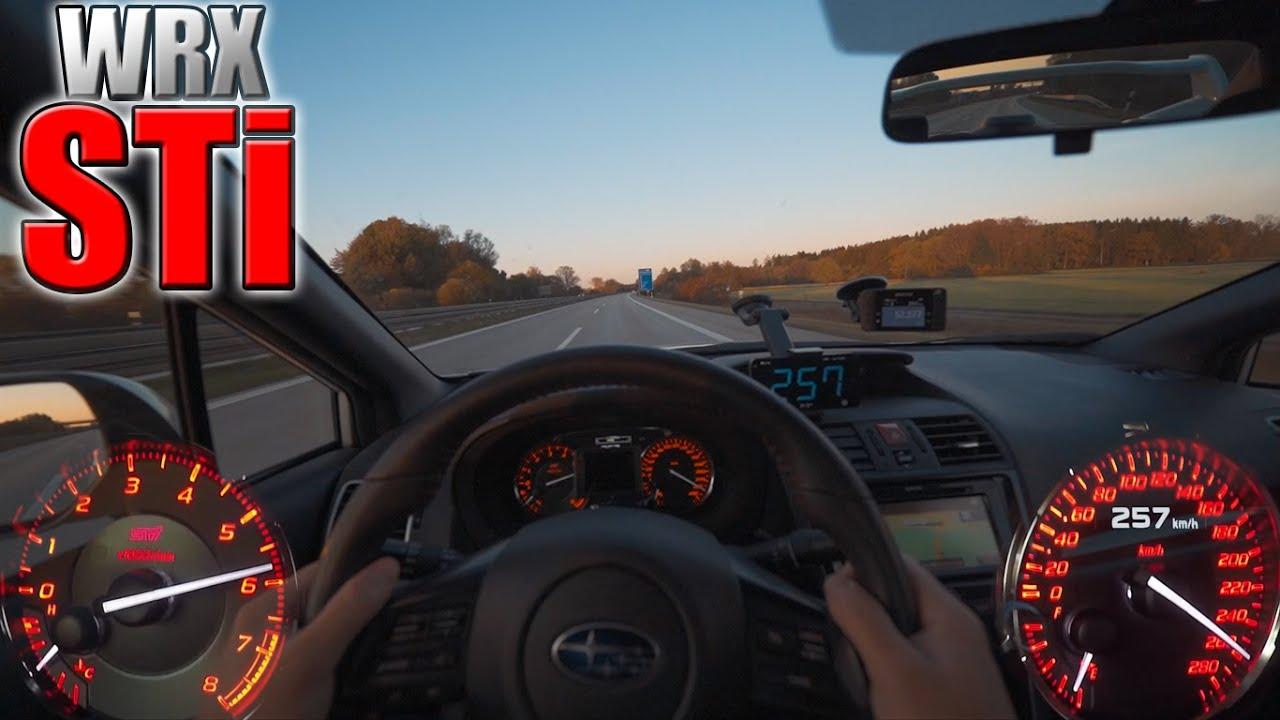 0-250 km/h | Subaru WRX STi | TOP SPEED and Acceleration TEST✔