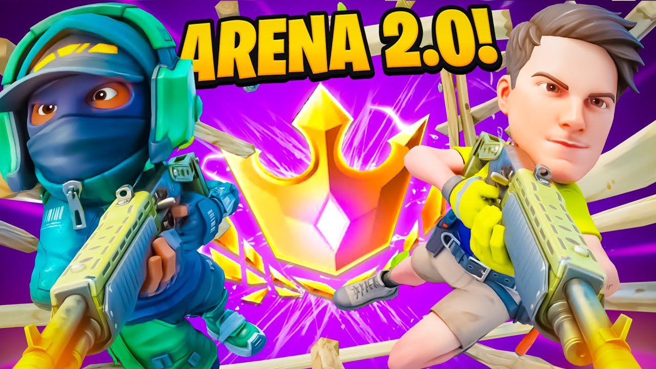 THE NEW ARENA IS HERE!