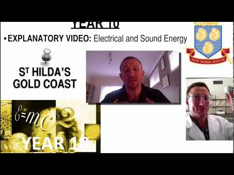 Electrical & Sound Energy