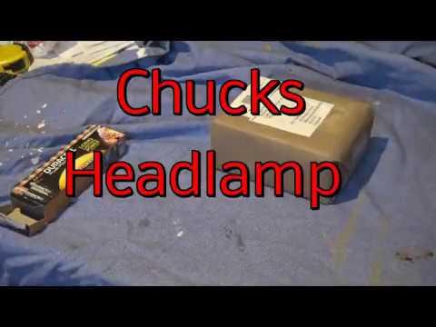 Chucks Headlamp  2018 05 15