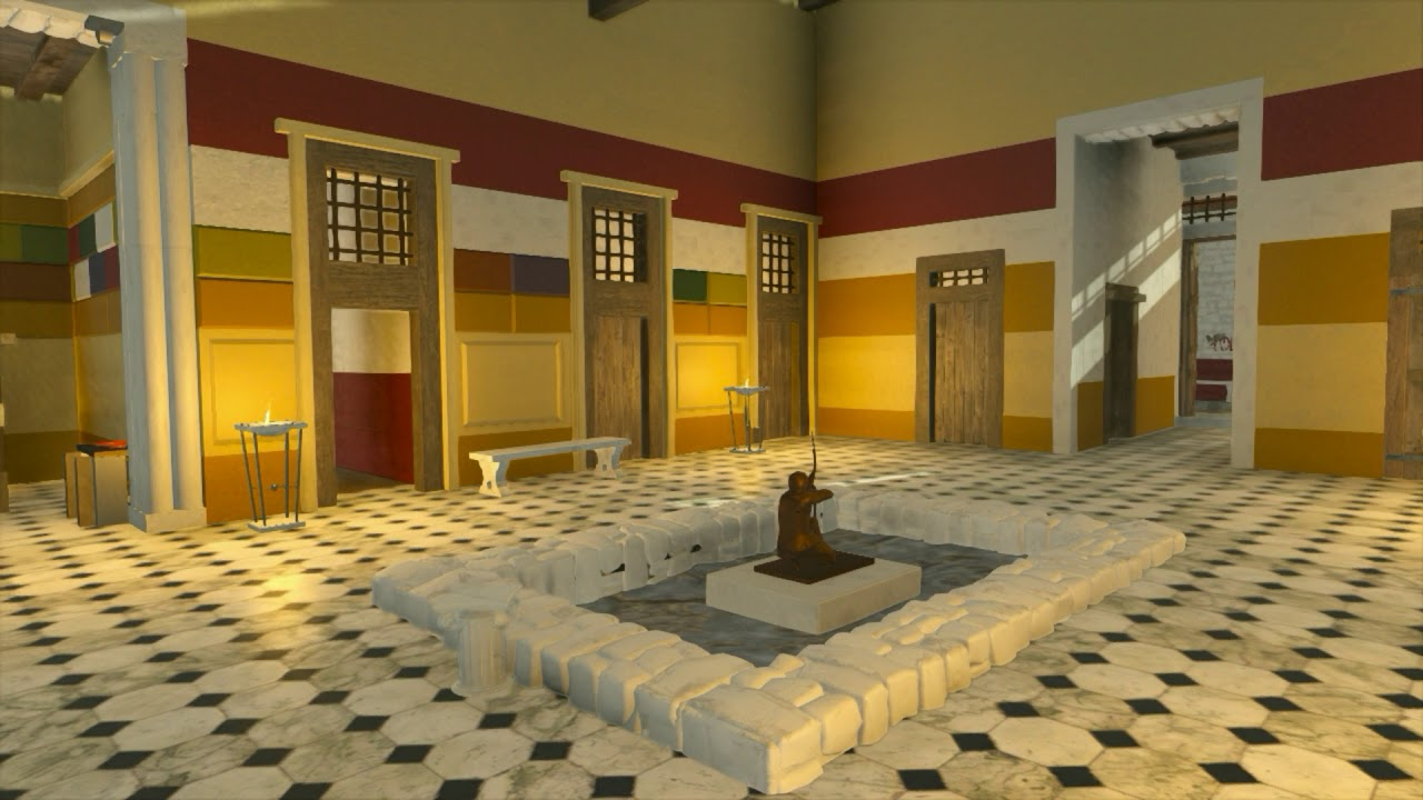 Pompeii and the House of Sallust - 3D Reconstruction