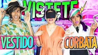 VÍSTETE SIN VER LO QUE ESCOGES | LOS POLINESIOS RETO
