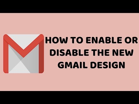 How To Enable Or Disable The New Gmail Design   Try The New Gmail   Tutorials In Hindi