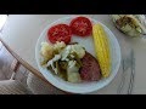 Green Beans and Potatos with Ham