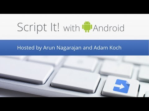 Script It! with Android