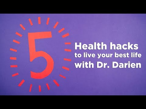 5 Health Hacks with Dr. Darien | Show Stress Who's Boss