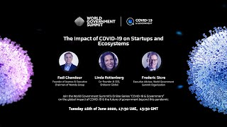 The Impact of COVID-19 on Startups and Ecosystems