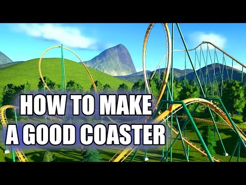 Planet Coaster | How to Make a Good Roller Coaster