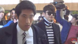 서인국팬캠 - 151103화 김포공항 출국