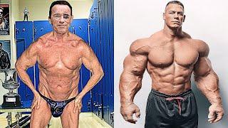 Arnold Schwarzenegger vs John Cena Transformation ★ 2019