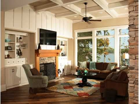 Lake House Living Room Interior Design