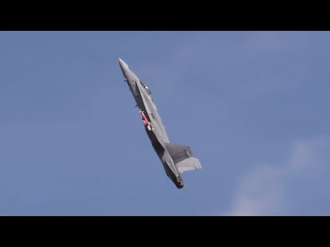 Finnish Air Force F/A-18C at RIAT 18th July 2015