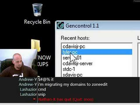 How To Remote Control Computers Using GenControl