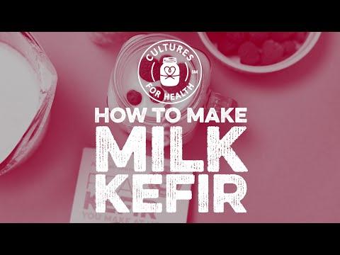 How to Make Milk Kefir