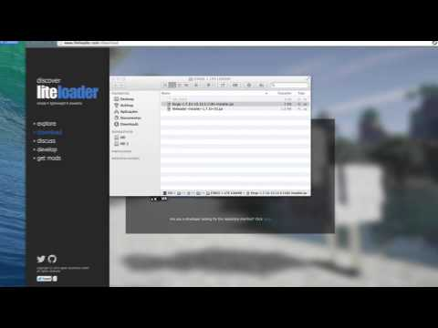 How to instal Forge + Lite Loader 1.7.9 / 1.8 Mac and Windows