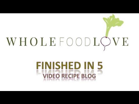Whole Food Love- Raw Spinach Hummus Recipe