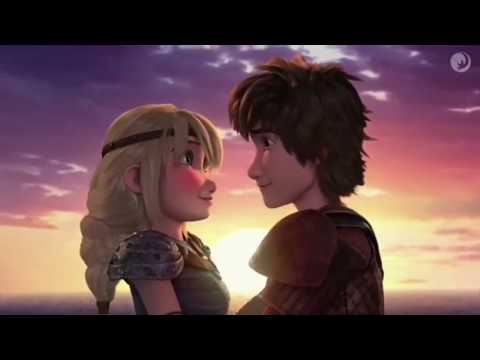 HICCSTRID KISS SEASON 6 Hiccup Says I Love You To Astrid!