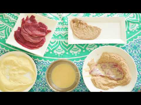 Veneto Veal Crumbed Schnitzel and Parmigiana
