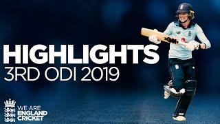Jones & Taylor Star In Series Whitewash   England Women v Windies Women 3rd ODI 2019 - Highlights