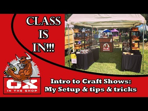 Craft Shows: Tips and Tricks, My Booth Setup