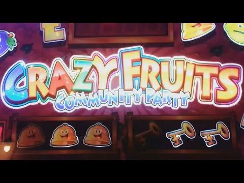 Crazy Fruits Community Party Fruit Machine - £5 Challenge
