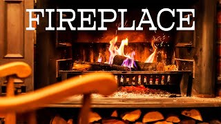 Calm JAZZ & Fireplace - Smooth Piano JAZZ Music For Relaxing - Chill Out Music