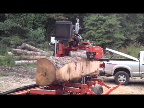 Wood-Mizer LT50 Sawing 36