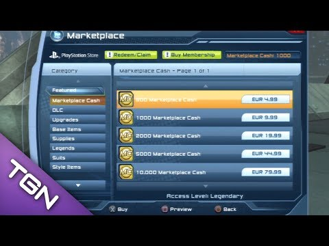 DCUO - Tutorial How to buy Marketplace Cash [PSN]