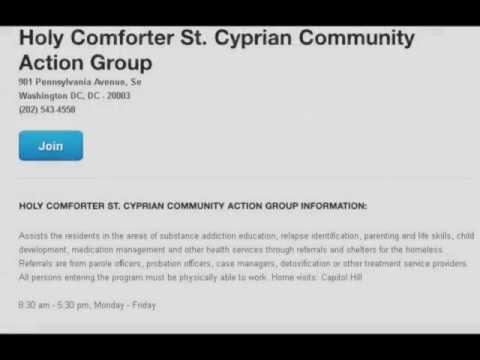 Drug Rehab Washington DC Holy Comforter Action Group