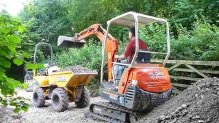 Diggers and dumper: day 5 and ooops