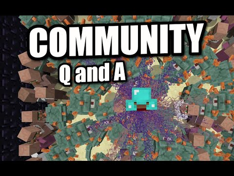 Minecraft PS4 - COOL GUARDIAN MINI GAME  - COMMUNITY Q and A - PS3 / XBOX WII
