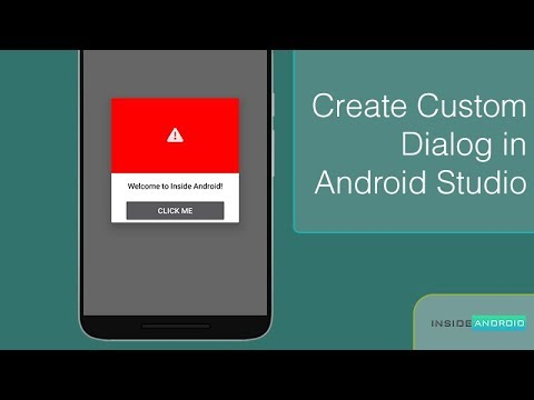 Make Custom Dialog in Android Studio|Inside Android