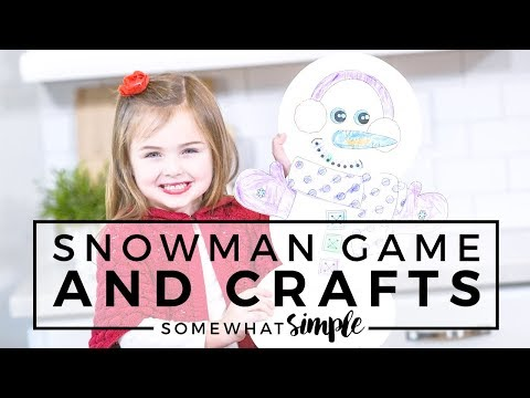 Let it Snow!  Four Super Fun and Easy Snowmen Crafts and Treats