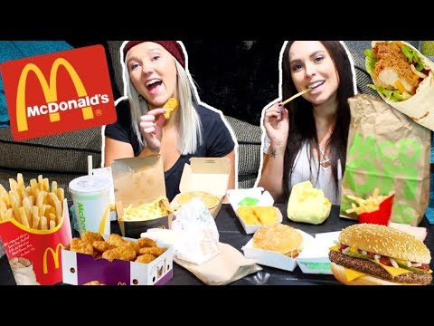 MCDONALDS MUKBANG! Nuggets, Poutine, Burgers, & Fries Eating Show (Trisha Paytas Inspired)