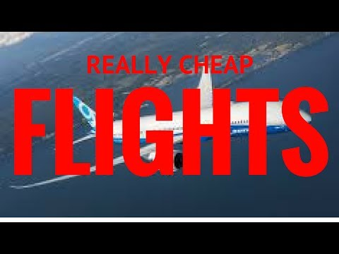 HOW TO GET REALLY CHEAP FLIGHTS - LEARN MORE BELOW!