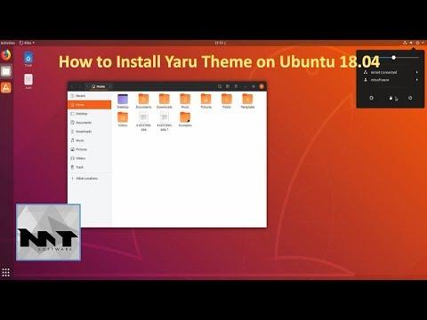 How To Install Yaru Theme on Ubuntu 18.04