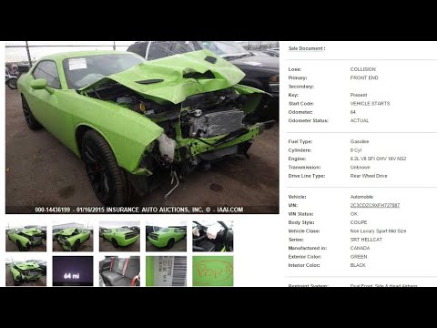 How to Buy Cheep Cars on Car Auctions IAA Insurance Auto Auctions using your computer