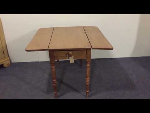 Victorian Pine Pembroke Table - Pinefinders Old Pine Furniture Warehouse