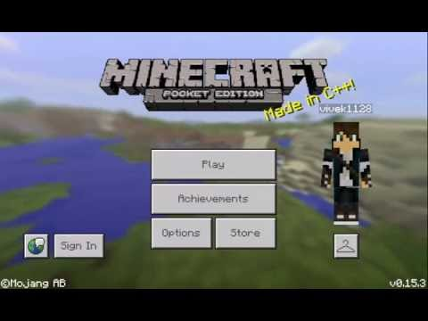 How to throw items in Minecraft PE