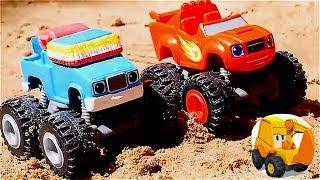 Carritos en TV para niños - Juguetes de Blaze y los Monster Machines - Blaze juguetes en español