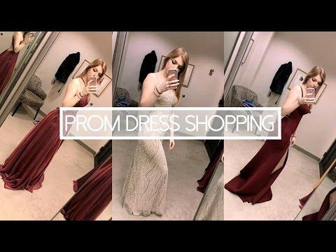 PROM DRESS SHOPPING 2017