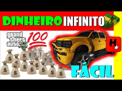 GTA 5 Online SOLO DINHEIRO INFINITO PS4/XBOX ONE/PC/PS3/X360 MÉTODO INICIANTE GTA V UNLIMITED MONEY