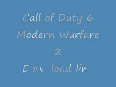 Call of duty 6 : Modern Warfare 2 Full Rip [3.94 GB] and Full version Download links