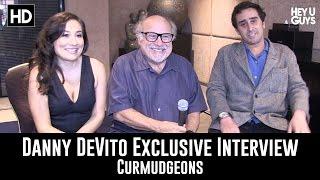 Danny Devito Jake Devito Lucy Devito On Their Short Film Curmudgeons