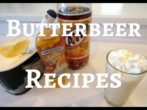 How to Make Butterbeer! Butterbeer Recipes for Kids and Adults
