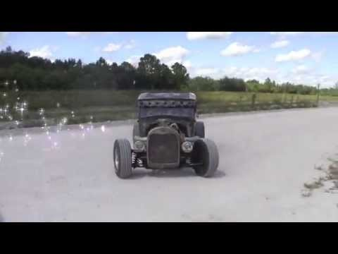 Rat Rod build 1929 Ford Model A  first car build from ground up